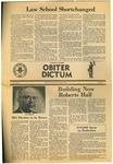 Obiter Dictum, Vol 4, No.1 (Fall, 1974) by Obiter Dictum