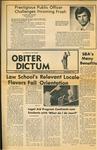 Obiter Dictum, Vol. 2, No.1 (November 1972) by Obiter Dictum