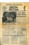 Obiter Dictum, Vol 1, No. 5 (Summer, 1972) by Obiter Dictum
